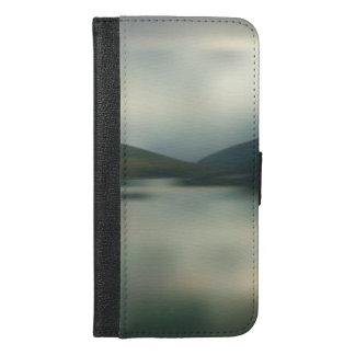 Coque Avec Portefeuille Pour iPhone 6 Plus Lac dans les montagnes