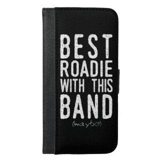 Coque Avec Portefeuille Pour iPhone 6 Plus Meilleur Roadie (peut-être) (blanc)