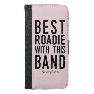 Coque Avec Portefeuille Pour iPhone 6 Plus Meilleur Roadie (peut-être) (noir)