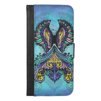 Coque Avec Portefeuille Pour iPhone 6 Plus René - foncé, de Bohème, spiritualité