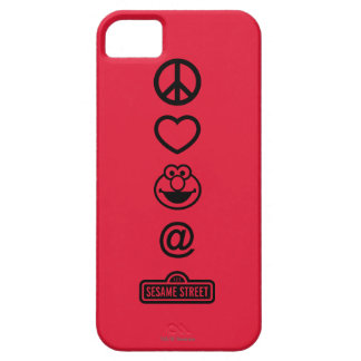 Coque Barely There iPhone 5 Amour Elmo de paix
