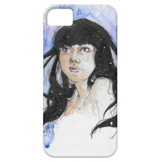 Coque Barely There iPhone 5 Anonym girl
