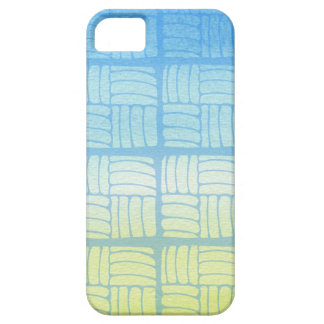 Coque Barely There iPhone 5 Bleu et jaune