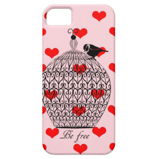 Coque Barely There iPhone 5 Cage d'amour