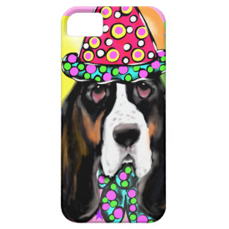 Coque Barely There iPhone 5 Chien de basset-hound