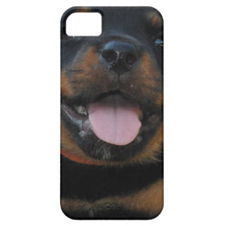 Coque Barely There iPhone 5 chiot de rottweiler