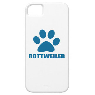 COQUE BARELY THERE iPhone 5 CONCEPTIONS DE CHIEN DE ROTTWEILER