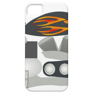 Coque Barely There iPhone 5 Dessin de moto