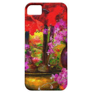 COQUE BARELY THERE iPhone 5 D'ORCHIDÉES ROSES TROPICALES D'AMARYLLIS TOUJOURS