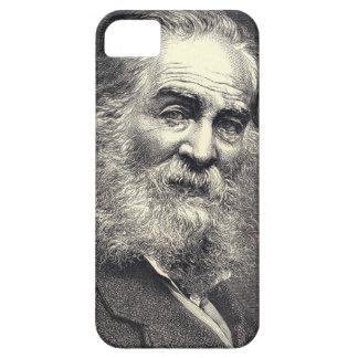 Coque Barely There iPhone 5 Feuille de Walt Whitman de gravure d'herbe