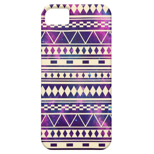 Coque Barely There iPhone 5 Galaxie les Andes aztèques