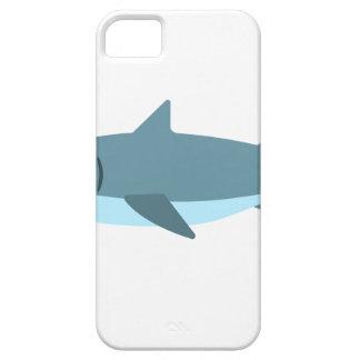 Coque Barely There iPhone 5 Grand style de primitif de requin blanc
