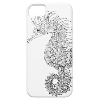 Coque Barely There iPhone 5 Hippocampe