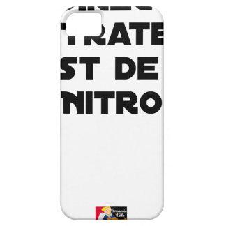 Coque Barely There iPhone 5 La Directive Nitrates, c'est de la Nitro - Jeux de