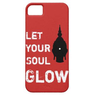 Coque Barely There iPhone 5 Laissez votre couverture de Bouddha de lueur d'âme