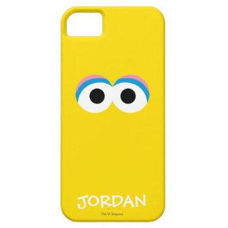 Coque Barely There iPhone 5 Le grand visage   de grand oiseau ajoutent votre