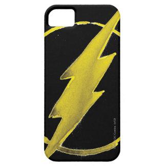 Coque Barely There iPhone 5 L'emblème | jaune instantané de coffre