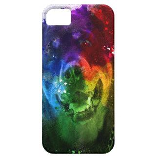 Coque Barely There iPhone 5 Les couleurs de l'amour sont un rottweiler