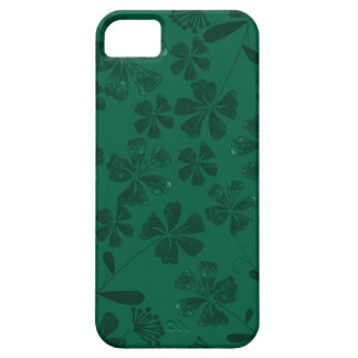 Coque Barely There iPhone 5 lflowers verts