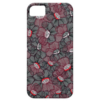 Coque Barely There iPhone 5 ligne fleur