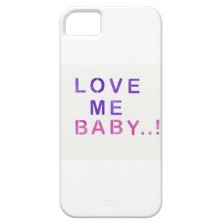 Coque Barely There iPhone 5 Love me Baby..!