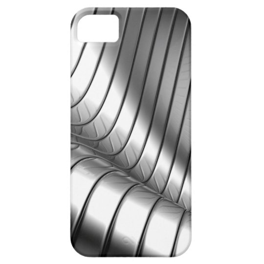 Coque Barely There iPhone 5 Miscellaneous - Chrome Patterns One