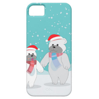 Coque Barely There iPhone 5 ours blanc B