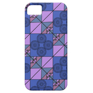 Coque Barely There iPhone 5 Phonecase artsy bleu