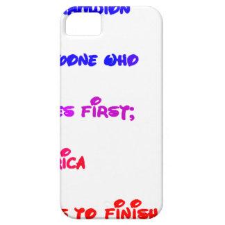 Coque Barely There iPhone 5 Poème pour les Présidents Barack Obama et Donald