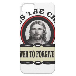 Coque Barely There iPhone 5 puissance de pardonner le jc de péché
