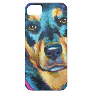 Coque Barely There iPhone 5 ROTTWEILER adorable