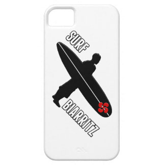 Coque Barely There iPhone 5 Surfeur Biarritz Basque