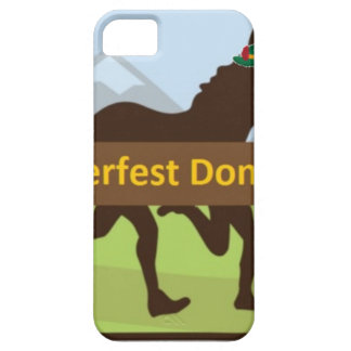Coque Barely There iPhone 5 Tiret d'âne de Donktoberfest