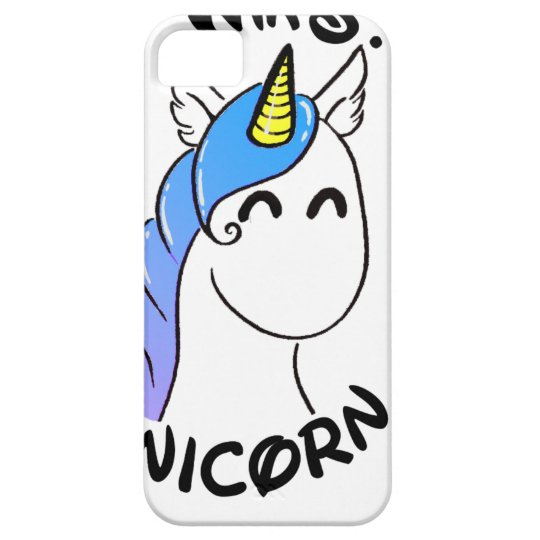 Coque Barely There iPhone 5 Unicorn