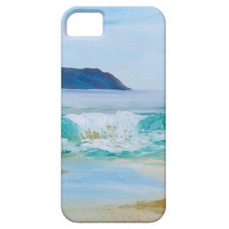 Coque Barely There iPhone 5 Vague de rupture par KatGibsonArt - aimez la plage