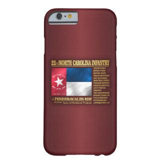 Coque Barely There iPhone 6 22ème Infanterie de la Caroline du Nord (BA2)