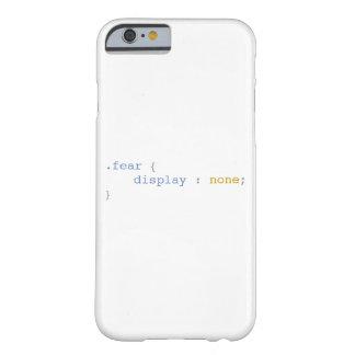 Coque Barely There iPhone 6 Affichage de crainte aucun CSS drôle