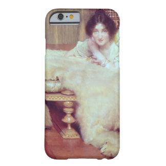 Coque Barely There iPhone 6 Alma-Tadema | un auditeur : La couverture d'ours,