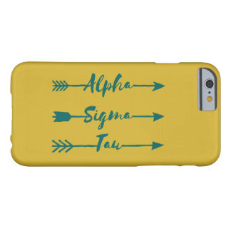 Coque Barely There iPhone 6 Alpha flèche de Tau de sigma