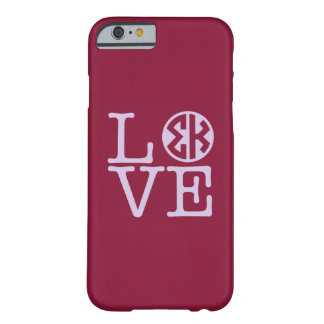 Coque Barely There iPhone 6 Amour de Kappa de sigma