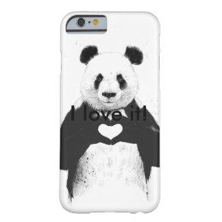 Coque Barely There iPhone 6 Amour de panda
