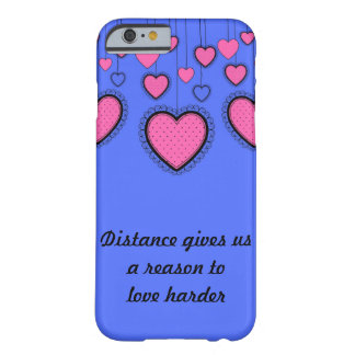 Coque Barely There iPhone 6 Amour plus dur