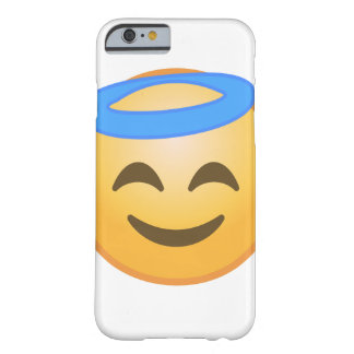 Coque Barely There iPhone 6 Ange de sourire Emoji