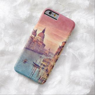 Coque Barely There iPhone 6 Aquarelle vintage chic de pastel de canal de