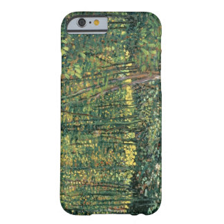 Coque Barely There iPhone 6 Arbres de Vincent van Gogh | et broussaille, 1887