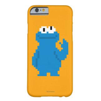 Coque Barely There iPhone 6 Art de pixel de monstre de biscuit