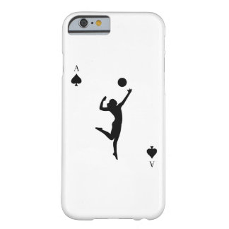 Coque Barely There iPhone 6 As de volleyball des cours drôles