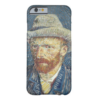 Coque Barely There iPhone 6 Autoportrait de Vincent van Gogh | avec le chapeau