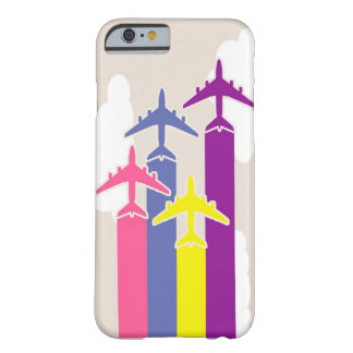 Coque Barely There iPhone 6 Avions colorés
