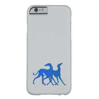 Coque Barely There iPhone 6 Azawakhs bleus